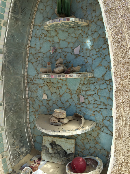Details of The Altar at The Man Base