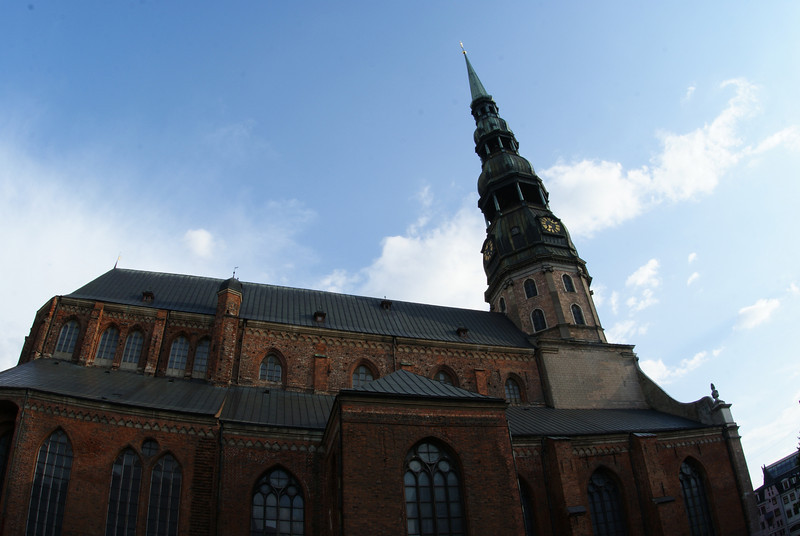 Plenty of nice old building and churches in Riga.