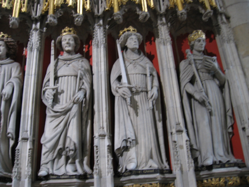 Statues of Kings, York Minster