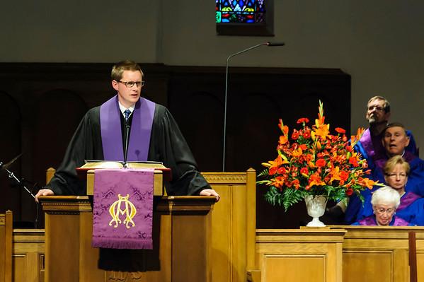 New Senior Pastor Introduction 3-30-2014