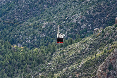 Tram Ride up Sandia Mountain - Oct 4, 2018