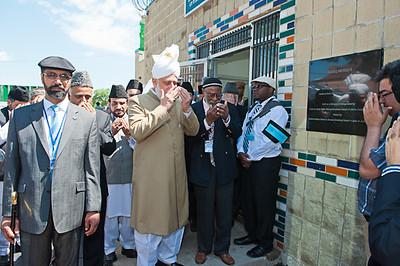 Hazrat Khalifatul-Masih V Visits Sadiq Mosque Chicago and Zion