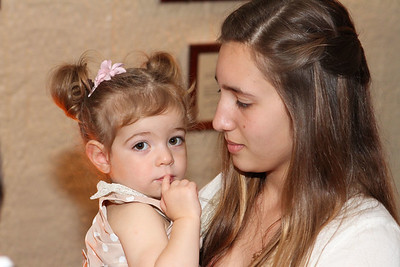Amalia and Leo's baptism