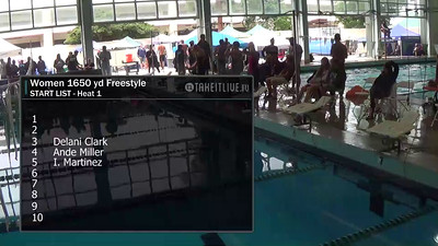 E29 Women's 1650 yd Freestyle