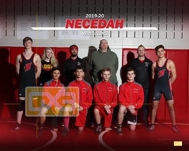 Necedah wrestling WRE1920