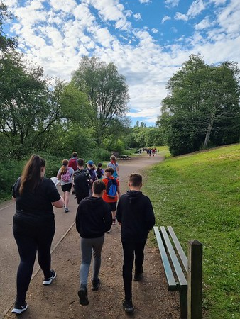 2021-06-15 Scouts Walk from Westport Lake to Bradwell via the Woods