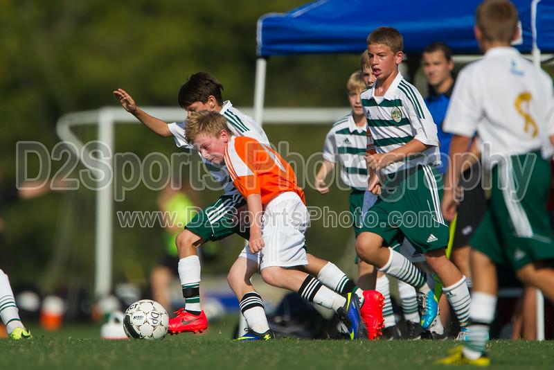 CASL BLACK vs FCCA GREEN - U13 Boys 8/16/2014
