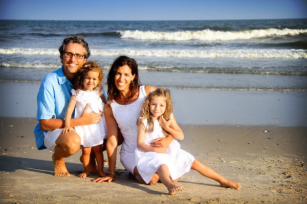 Kerris Family - Beach Portraits