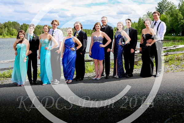 Prom Photos at Kinross Pond