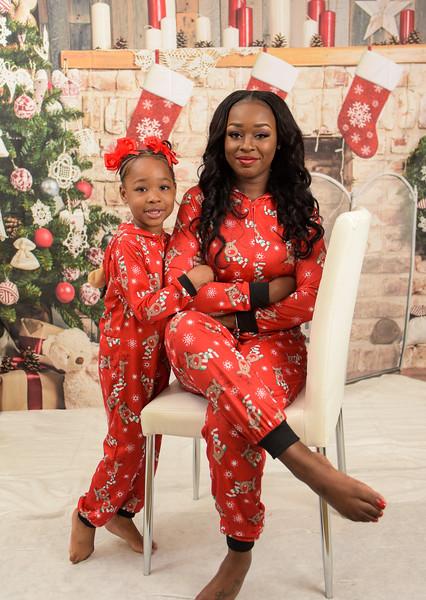Nikia Bain Family Pajama