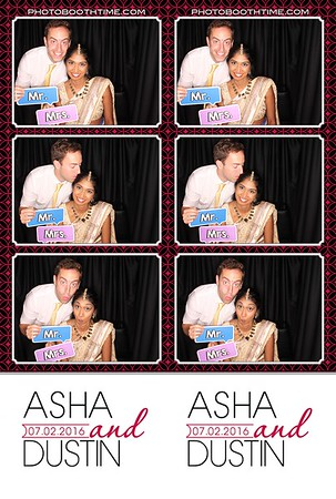 Asha and Dustin 07.02.2016