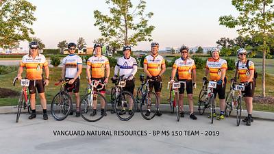 Vanguard Natural Resources - BP MS 150 Team - 2019