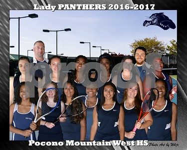 2016-2017 PM West Girls Tennis