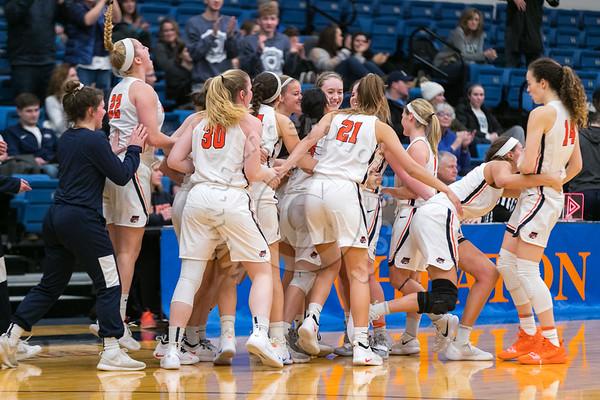 Wheaton College Women's Basketball vs Illinois Wesleyan, January 31, 2019