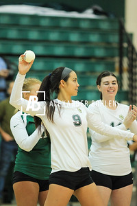 2013 Cal Poly Volleyball vs Riverside