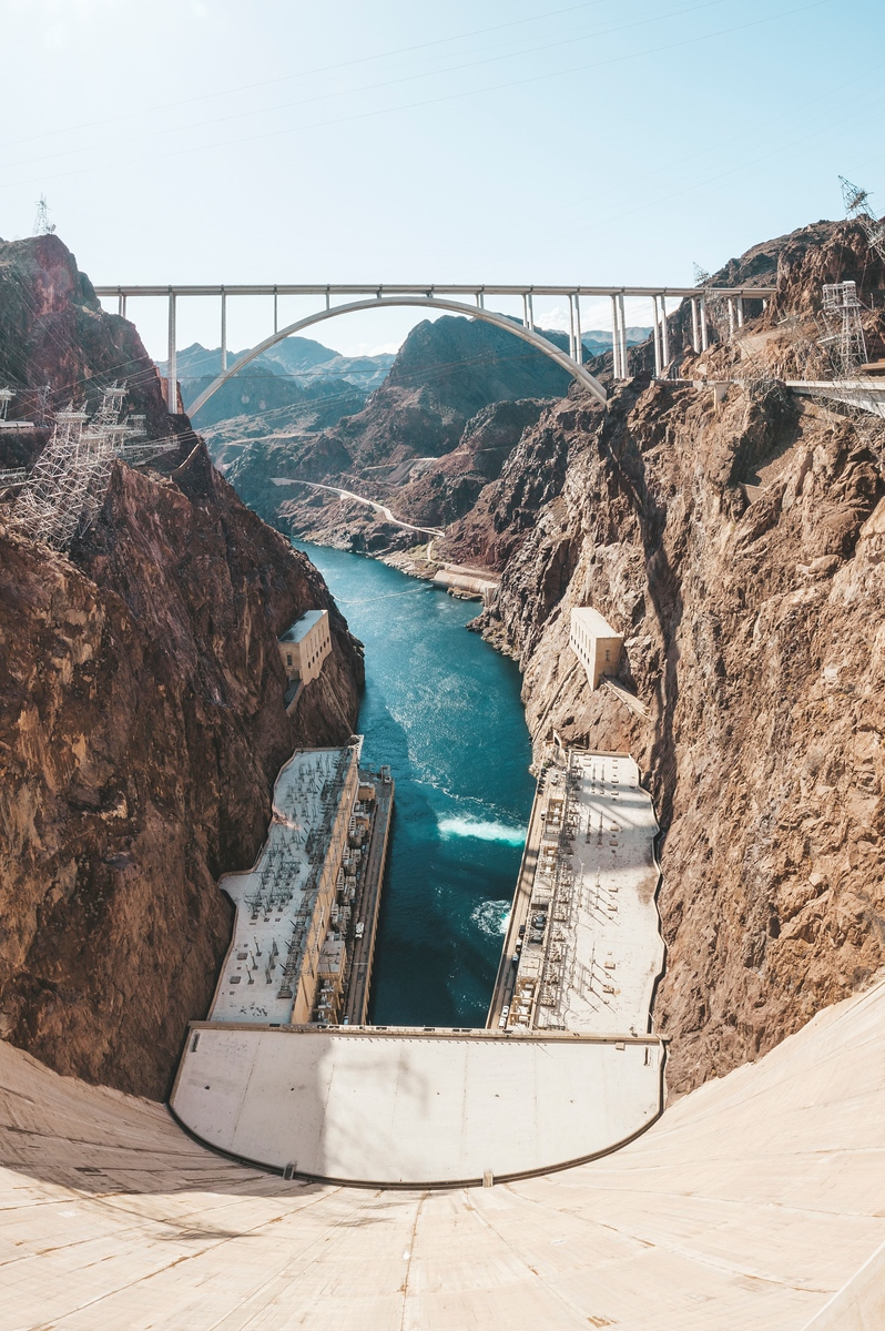 hoover dam - road trip from las vegas