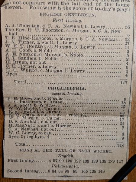 English 1885 Tour