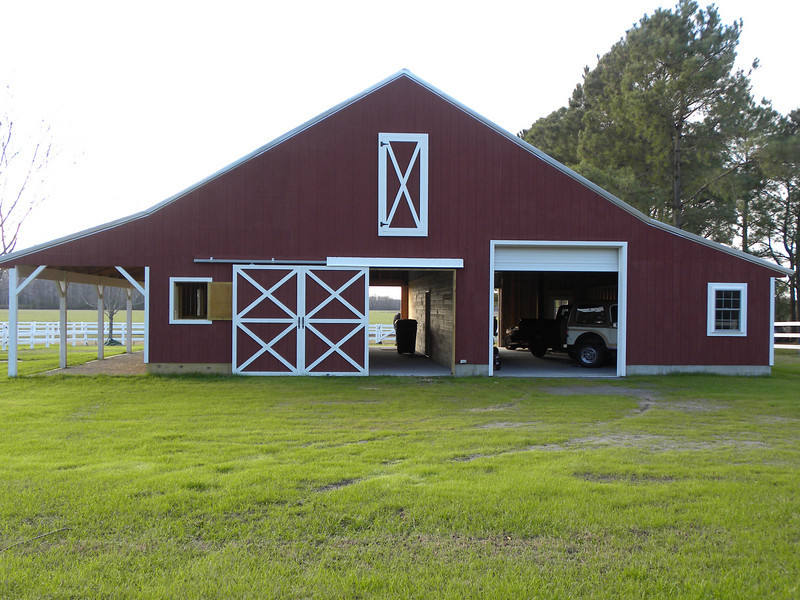 The new barn