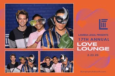 2/23/20 - LAMBA LEGAL 17th Annual Love Lounge