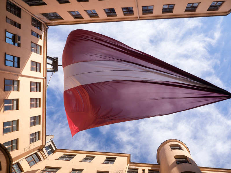Let Latvia stand Free