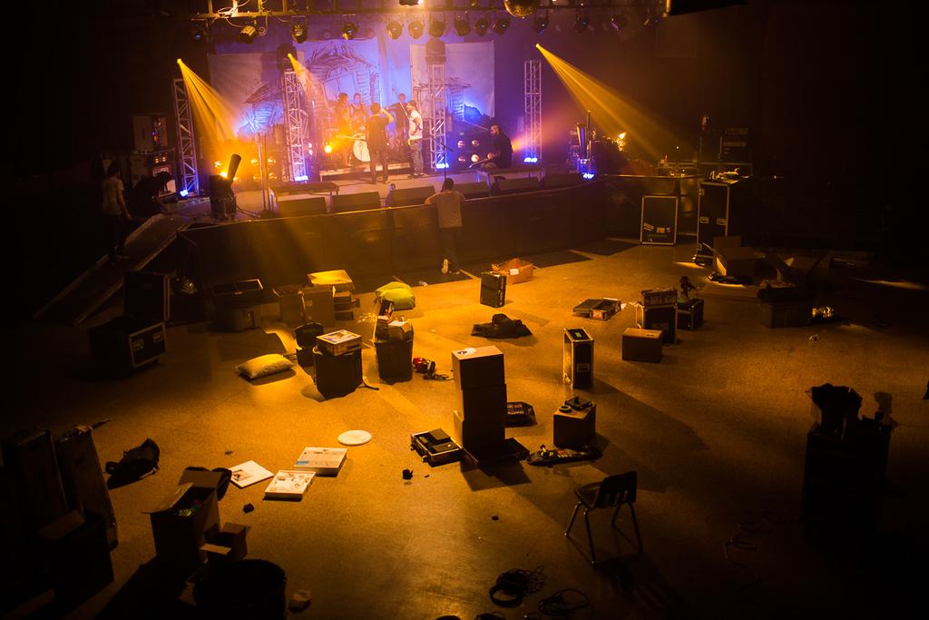 Pierce The Veil rehearsal day 2