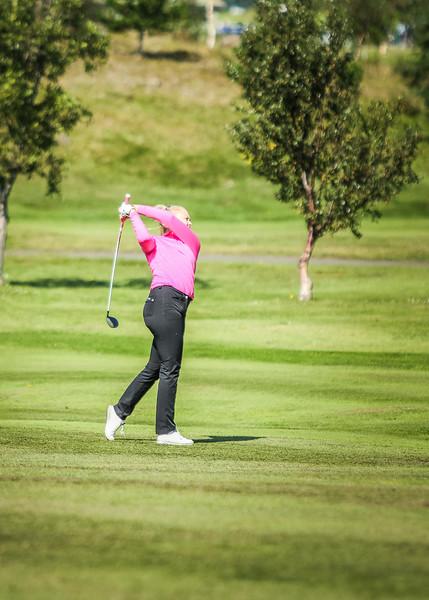 GK, Íris Lorange Káradóttir Íslandsmót í golfi 2019 - Grafarholt 2. keppnisdagur Mynd: seth@golf.is