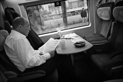 Snapshots - Berlin - Leipzig - Jena - Dresden - by rail