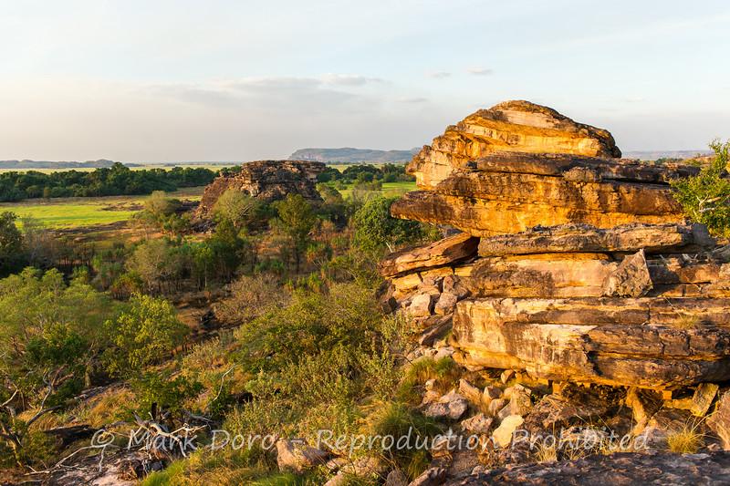 View over the escarpment at Ubirr, Kakadu, Northern Territory