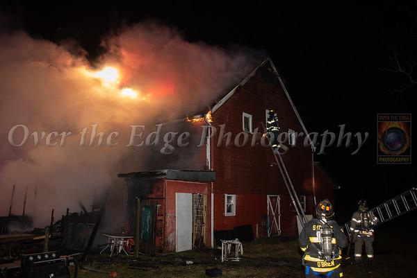 Syosset Barn Fire 11/22/2020