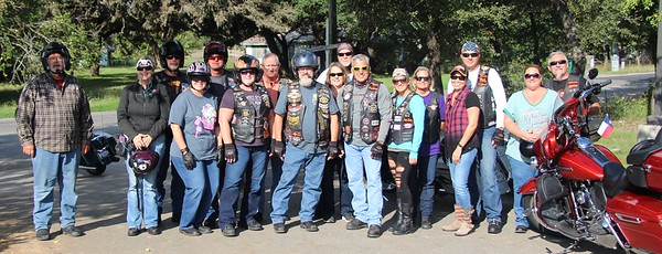 "2017-10-14 OCT Chapter Ride 'Salt Lick BBQ"" Group 2 by Dale Hardy"