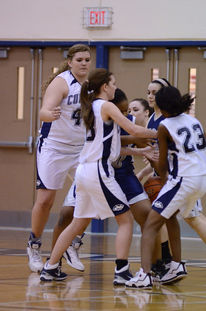 Oswego East Vs Plainfield So. girls soph basketball 2012