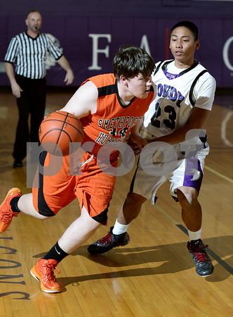 2014 Smethport Boys JV Basketball @ Coudersport