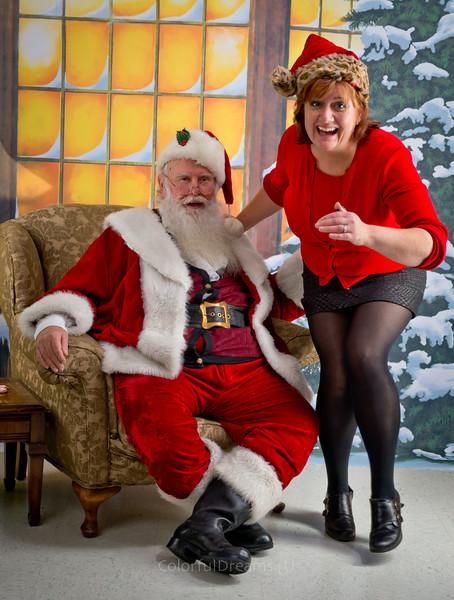 Santa Visits Creative License
