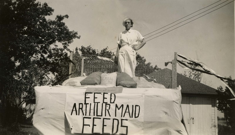 JB299.  Arthur Maid float – Arthur – 21 Jun 1936.jpg