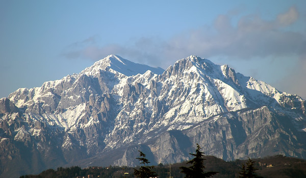 The Grigne range from my home