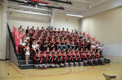 2019 NCHS Marching Redhawks Group Photos