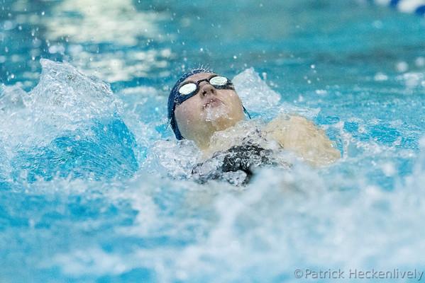 2013-11-09 Hillsdale College Women's Swimming vs. Ohio Northern/Olivet