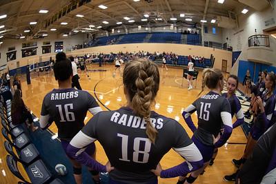 Mount Union Purple Raiders Volleyball