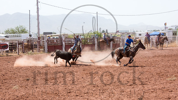#10 Hotter 'N Hell Roping (second go) 6/25/16