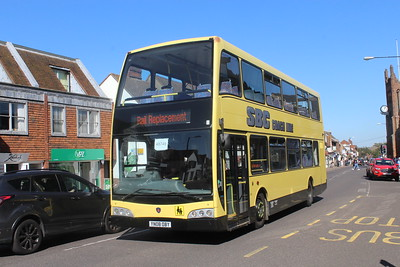 UK Rail Replacement Buses