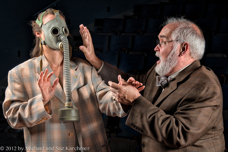"""Promotional Image for """"Hysteria..."""", 2012 production at the Wellfleet Harbor Actors Theater (Photo Credit: Michael and Suz Karchmer)"""