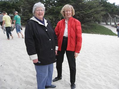 Mary and Jan Carmel 2010