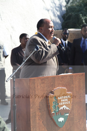 Martin Luther King, III Book Launch - Celebration on the  National Mall