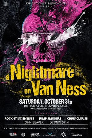 a Nightmare on Van Ness @ The Regency Center SF 10.31.15