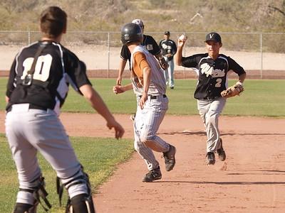 Baseball Verrado Junior Varsity vs. Desert Edge 3/31/2009