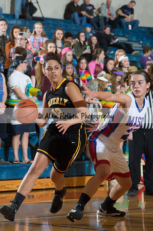 Lady's Varsity Basketball - Waverly at Mason