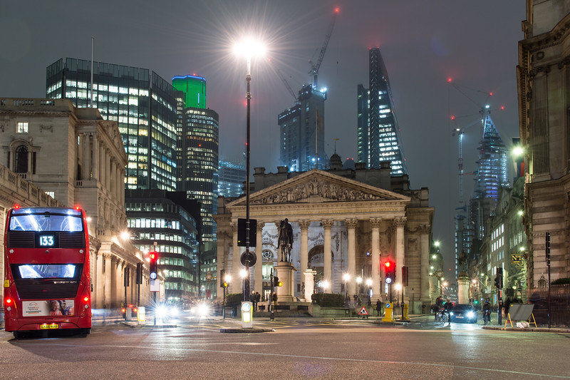 Bank and the City of London