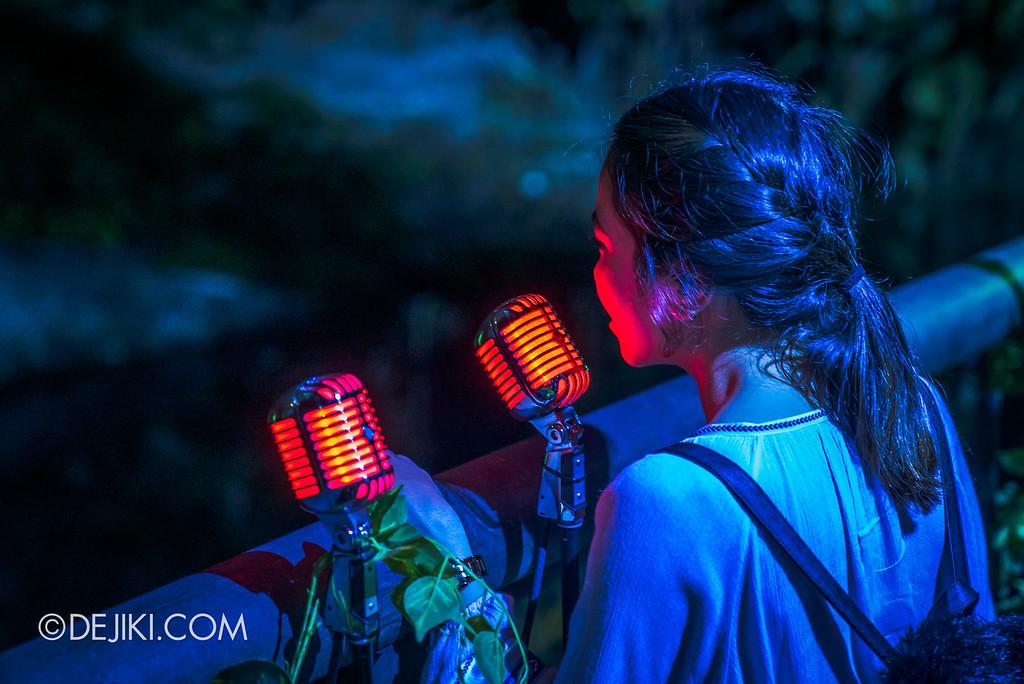 Singapore Zoo Rainforest Lumina - Sing like an animal