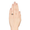 .53ctw Rose Cut Halo Ring, by Single Stone 3