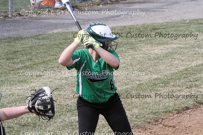 WBHS Softball at Marlington